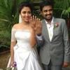 Actress Amala Paul With Director A. L Vijay Showed Their Ring During Their Engagement In Kochi