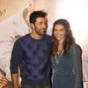 Ranbir  And Deepika Complemented Each Other In Blue At The Trailer Launch Of Tamasha