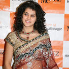 Tapsee gorgeous saree cute still