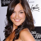 Minka Kelly sleeveless dress sweet smile pic
