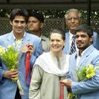 Leader Of The Congress Sonia Gandhi Pics