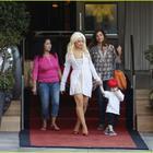 Pop Singer Christina Aguilera Hot Photos