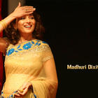 Beauty queen Madhuri Dixit Smilling Face