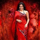Hot Babe Mandira Bedi Saree Stills