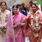 Varun Gandhi and Yamini Roy Chowdhury Marriage Photos