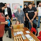 Salman Khan at Rashid Pediatric Therapy Centre in Dubai