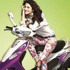 Anushka Brand Ambassador for TVS Scooty Promotional Pics