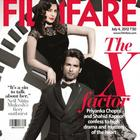Shahid and Priyanka on The Cover Page of Filmfare Magazine July 2012