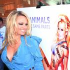 Pamela Anderson's PETA Ad in London