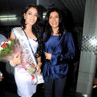 Himangini Singh Yadu Returns After Winning Miss Asia Pacific World 2012