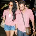Neil Nitin Mukesh and Sonal Snapped at Airport