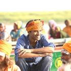Sonam and Dhanush on The Sets Of Raanjhnaa