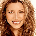 Jessica Biel Smiling Face Look Still