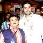 Bol Bachchan Cast on TV Serial Taarak Mehta Ka Ooltah Chashmah To Promote Their Film