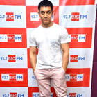 Aamir Khan at 92.7 BIG FM Radio to Promote Satyamev Jayate Show