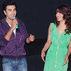 Ranbir,Priyanka and Ileana at Barfee Trailer Launch