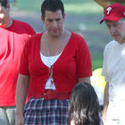 Adam Sandler Dressing In Drag On Set Of Jack and Jill 2