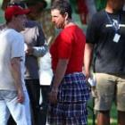 Adam Sandler Dressing In Drag On Set Jack and Jill 2
