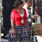 Adam Sandler Jack and Jill Filming Dress Make Up Still