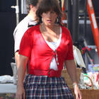 Adam Sandler Stunning Pic On The Sets
