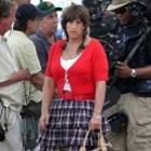 Comedian Star Adam Sandler On The Sets Of Jack and Jill 2