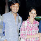 Ritesh and Genelia at Special Screening Of Bol Bachchan