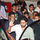 Abhishek Spotted at Bol Bachchan Special Screening Event