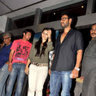Ajay Devgan with Tanisha at Special Screening of Bol Bachchan