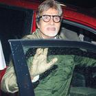Super Star Amitabh Attend Special Screening Of Bol Bachchan