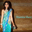 Shamita Shetty Looking Gorgeous In Saree