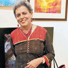 Art Lovers and Artists at 13th Annual Artist Exhibition
