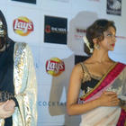 Saif,Deepika and Diana at Cocktail Event
