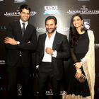 Saif and Diana Snapped at Imperial Hotel To Promote Cocktail