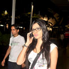 Playboy Newest Model Sherlyn Chopra Spotted At Airport
