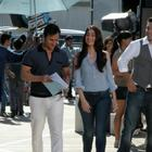 Kareena and Saif On The Sets Of Head and Shoulders Commercial Ad in Bangkok