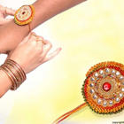 Raksha Bandhan Brother and Sister Hand Photo