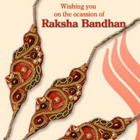 Raksha Bandhan E-Greeting Wish Wallpaper