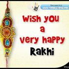 Raksha Bandhan Wishing Card