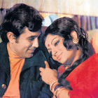 Rajesh Khanna and Sharmila Tagore On Romantic Mode Pic