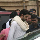 Abhishek Bachchan Leaves After Paying Tribute To Superstar Rajesh Khanna
