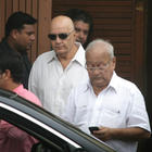 Actor Prem Chopra Leaves After Paying Tribute To Superstar Rajesh Khanna