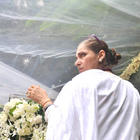 Dimple Kapadia at The Funeral of Rajesh Khanna