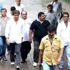 Raj Babbar at The Funeral of Rajesh Khanna