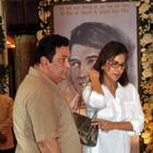 Rishi Kapoor and Neetu Spotted at Rajesh Khanna's Chautha Ceremony