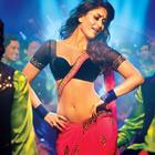 Heroine Movie Halkat Jawaani Song Kareena Red Spicy Saree Still