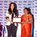 Glitz and Glamour Neha Dhupia at P&G Thank You Mom Launch Event