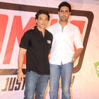 Abhishek Launches Uday Chopra's New Label of Comic Books Yomics