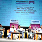 Arjun and Parineeti Snapped at Whistling Woods International