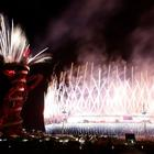 Fireworks Explode Over The Olympic Stadium During The Closing Ceremony of The London  Olympic Games Reuters