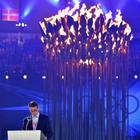 London Chairman Sebastian Coe Delivers His Thanking Speech During The Closing Ceremony of the London Olympic Games 2012